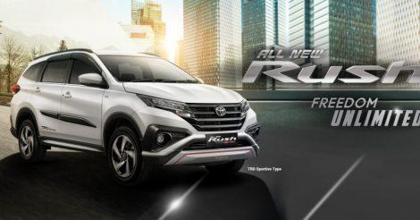 Toyota Rush, SUV Murah dengan Spesifikasi Mumpuni